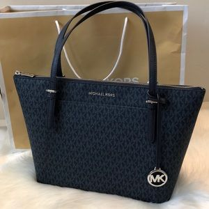 Michael Kors Ciara Large Top Zip Tote MK Signature